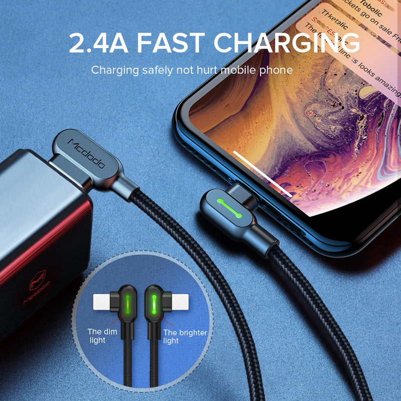 Cable For iPhone XS MAX XR 8 7 6 5 6s Plus USB Cable Fast Charging Cable Mobile Phone Charger Cord Adapter USB Data Cable