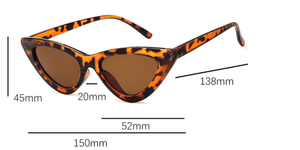 Cats Eye Triangular Sunglass