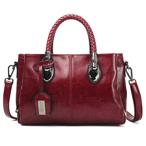 Vintage Oil Wax leather handbags