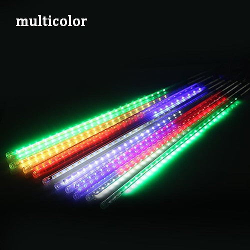 Outdoor Meteor Shower Rain 8 Tubes LED String Lights Waterproof