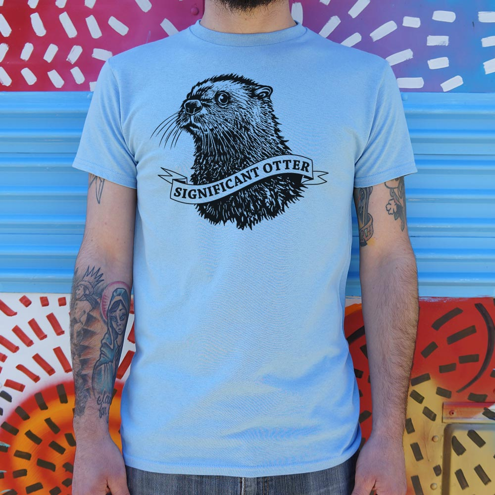 Significant Otter T-Shirt (Mens)
