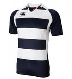 Hooped Challenge Jersey - Navy
