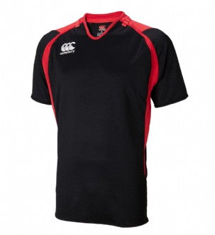 Challenge Jersey (Junior) - Black/Scarlet