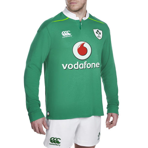 Ireland Home Classic L/S Rugby Jersey 2016/2017