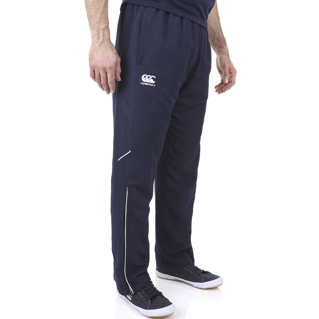Team Track Pants - Navy/White