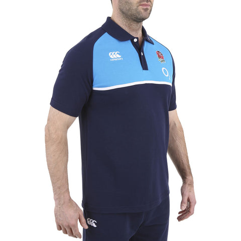 England Cotton Training Polo - Vivid Blue