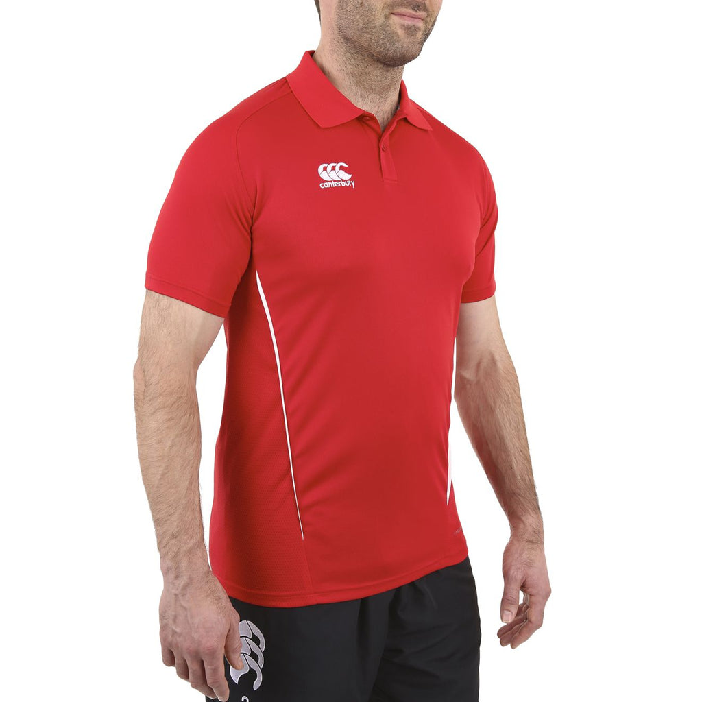 Team Dry Polo - Flag Red