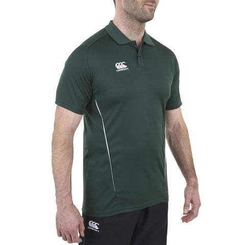 Team Dry Polo - Forest/White