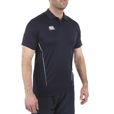 Team Dry Polo - Navy/White
