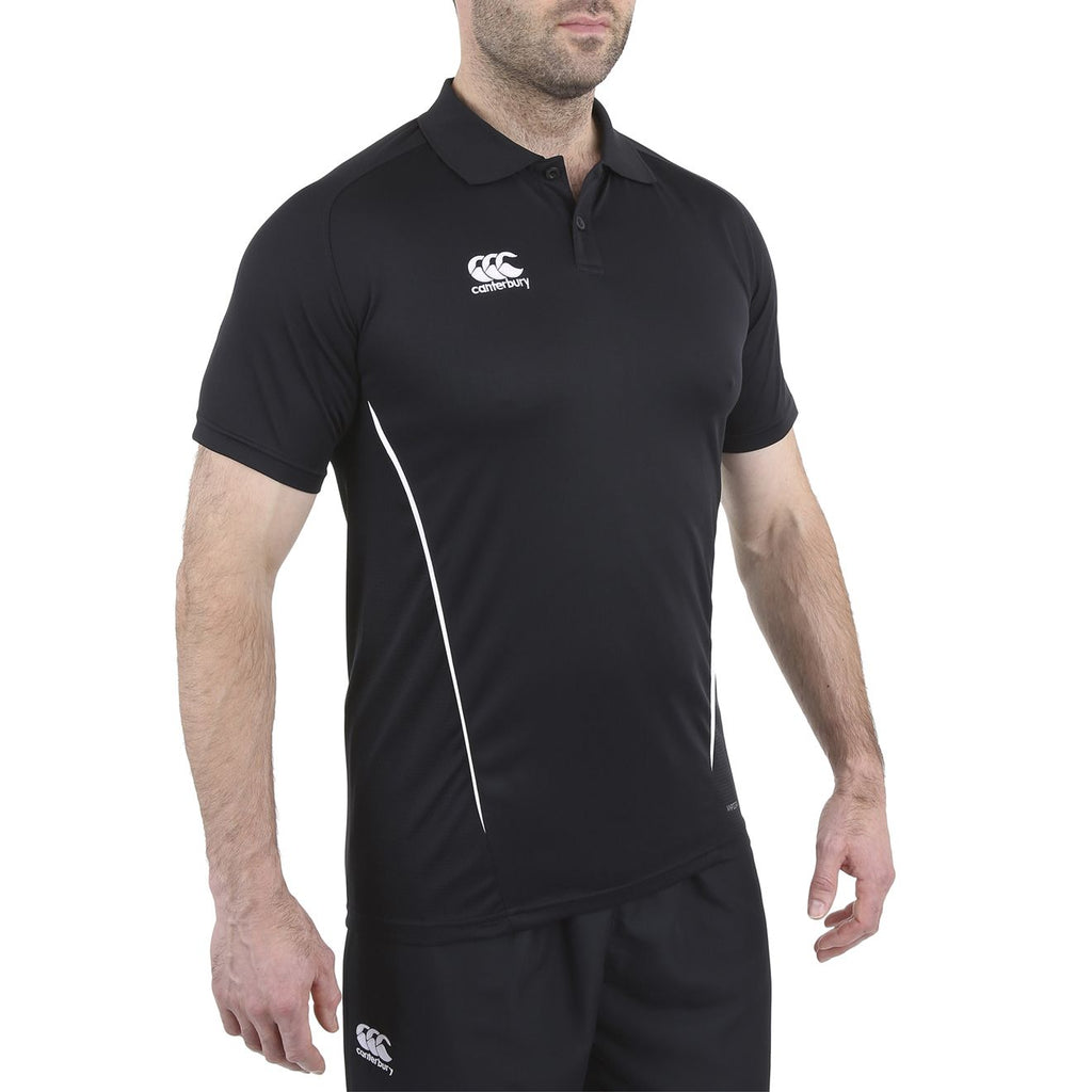 Team Dry Polo - Black/White