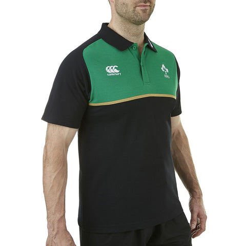 Ireland Cotton Training Polo - Black