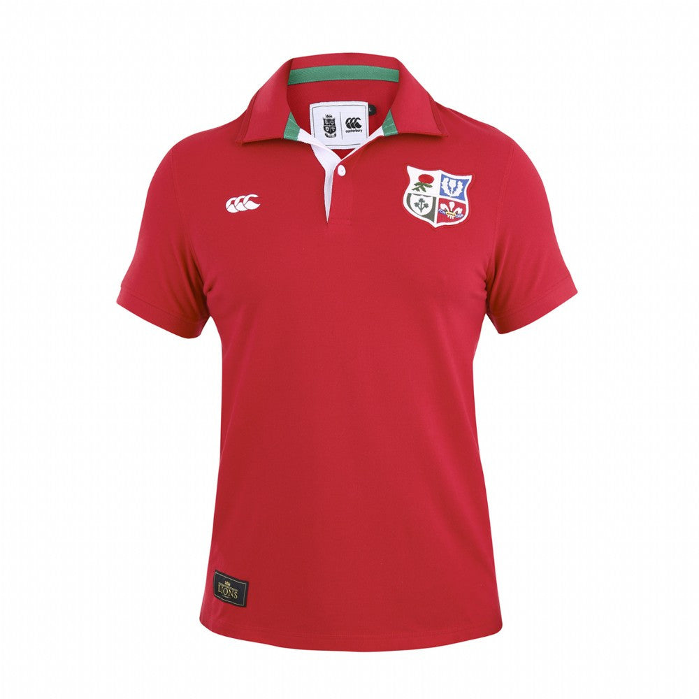 British & Irish Lions Pique Rugby Polo