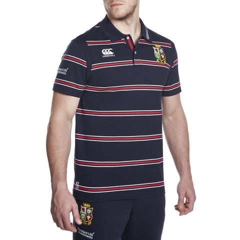 BIL Vapodri Cotton Stripe Polo