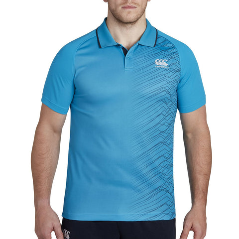 Vapodri Graphic Poly Polo