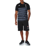 England Cotton Jersey Strip Polo