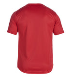 Essentials Crew Poly Tee - Tango Red