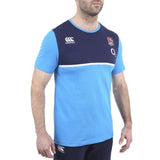 England Cotton Training Tee - Vivid Blue