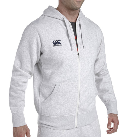 Canterbury Full Zip Hoody - Cloud Marl/Navy