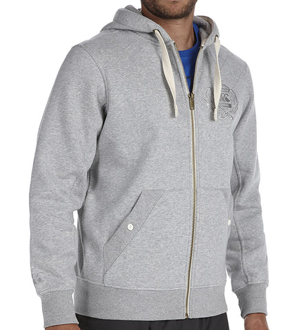 Zip Thru Quilted Hoody