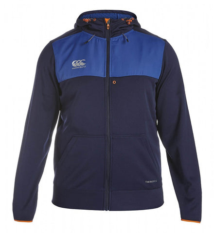 Thermoreg Full Zip Hoody - Evening Blue