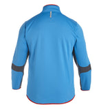 Thermoreg 1/4 Zip Run Top - Dresden Blue