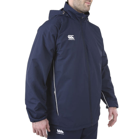 Team Fleece Lined Jacket Senior - Navy/White