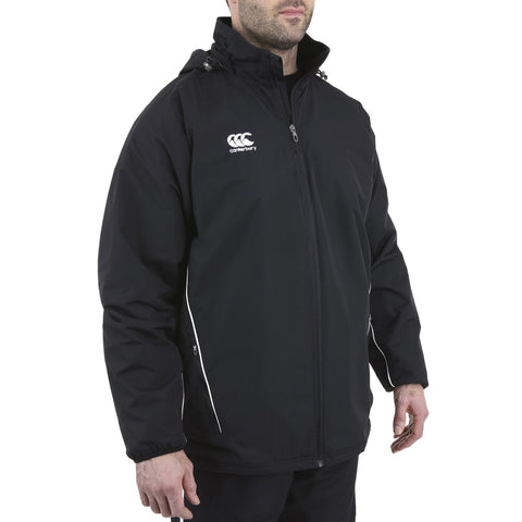 Team Fleece Lined Jacket Senior - Black/White