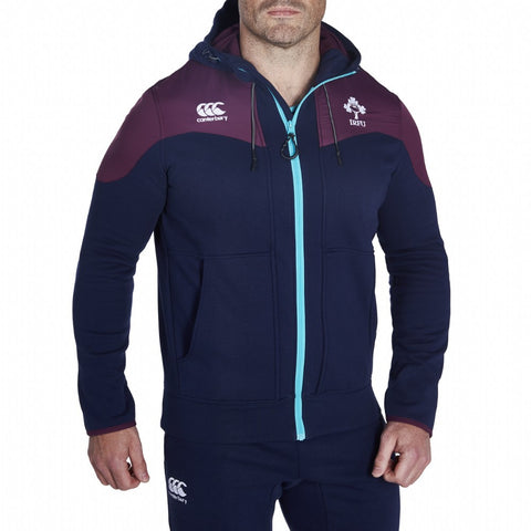 Ireland Training Full Zip Hoody - Peacoat