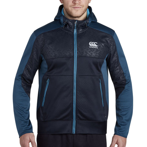 Thermoreg Spacer Fleece Full Zip Hoody - Sky Captain
