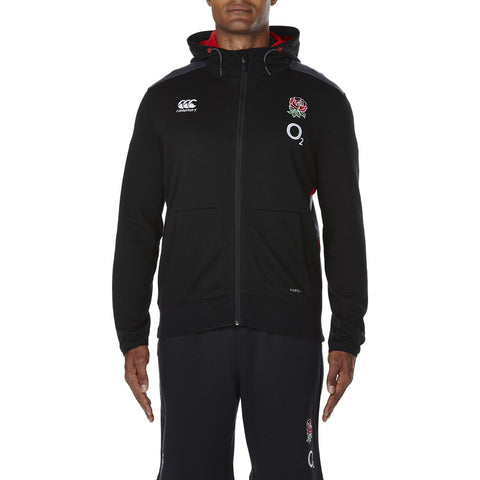 England Vapodri Fleece Full Zip Hoody
