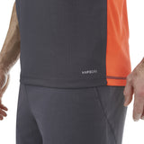 Vapodri Poly Small Logo Singlet - Nine Iron
