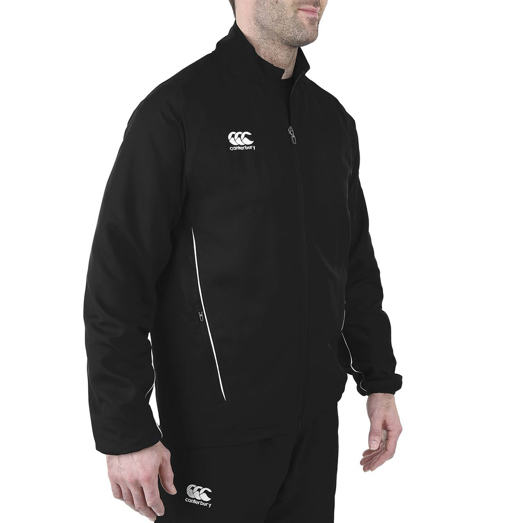 Team Track Jacket - Black/White