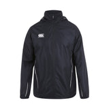Team Full Zip Rain Jacket - Black/White
