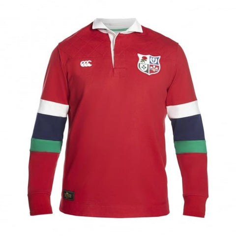 BIL Sleeve Stripe Rugby Jersey - Tango Red