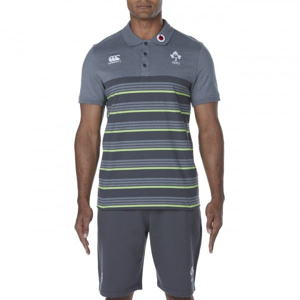 Ireland Cotton Jersey Stripe Polo
