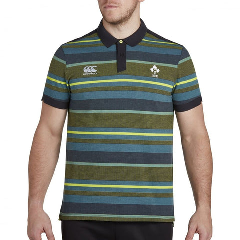 Ireland Jacquard Polo - Phantom