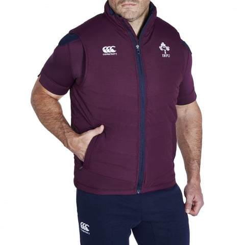 Ireland Padded Gilet - Plum
