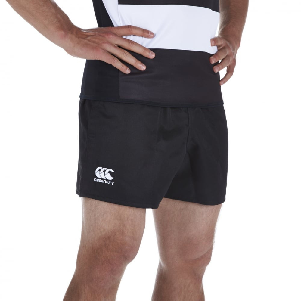 Professional Polyester Shorts - Black