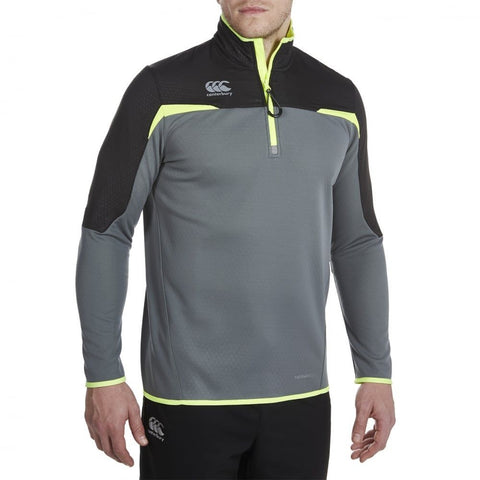 Thermoreg 1/4 Zip Run Top - Quiet Shade