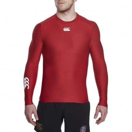 Thermoreg Long Sleeve Top - Flag Red