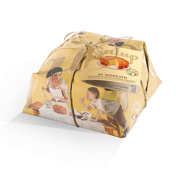 Panettone Moscato 750g