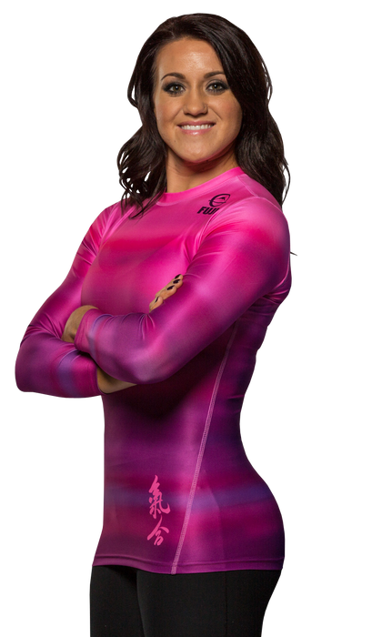 Fuji Sports Haiku Women's Rashguard Pink
