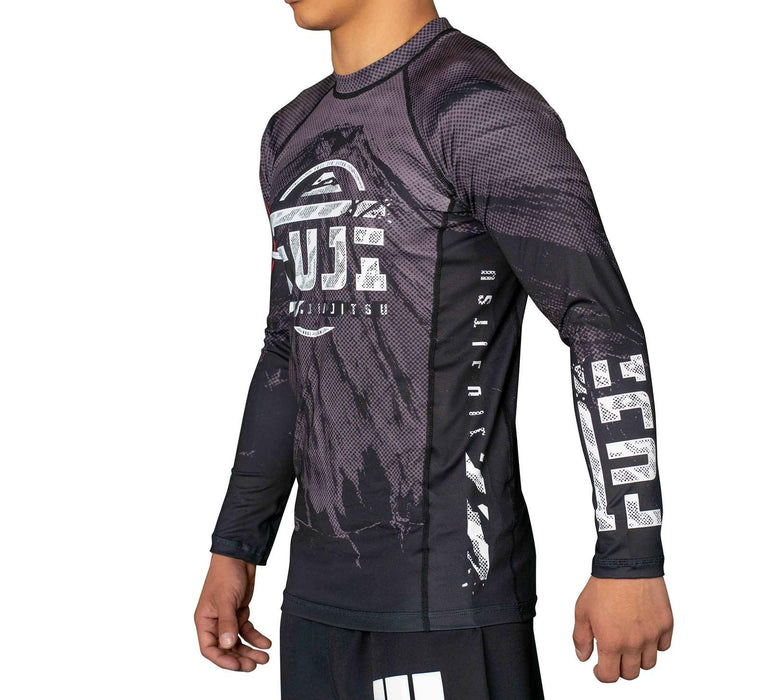 Fuji Mount Rashguard Long Sleeve side left