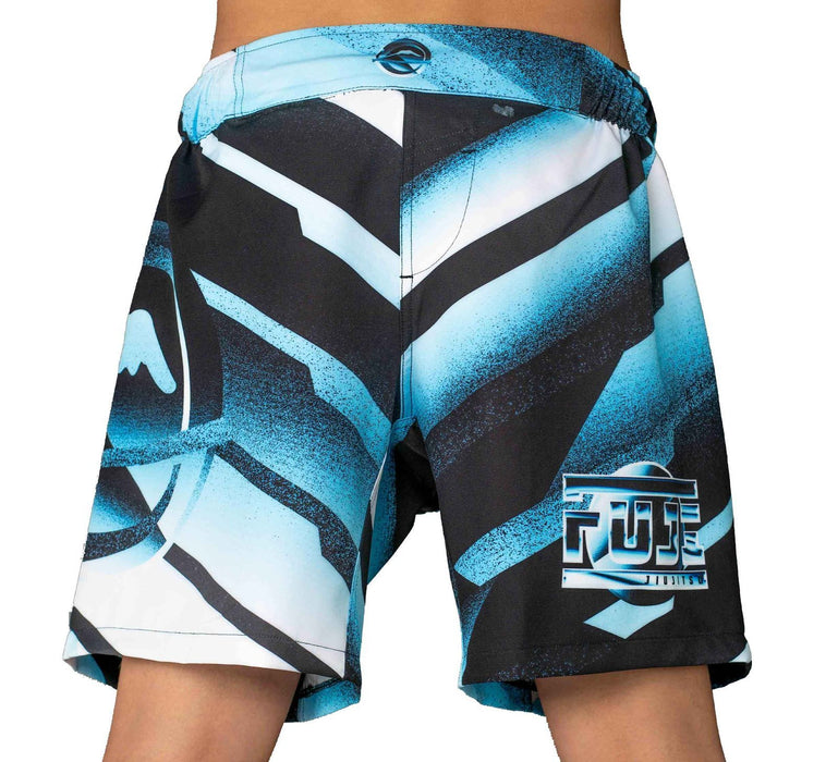 Fuji Ice Grappling Shorts back
