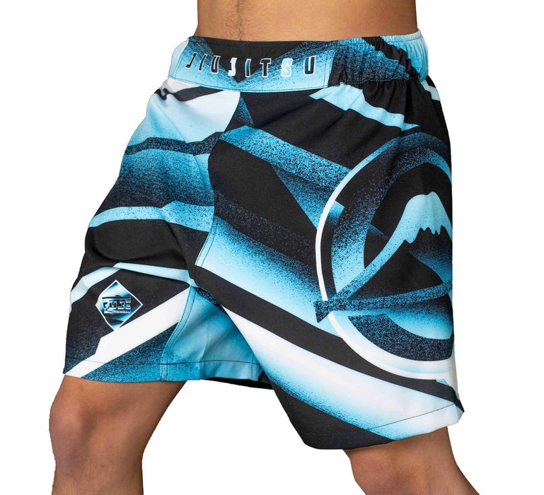 Fuji Ice Grappling Shorts side left