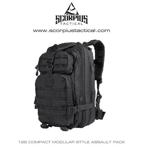126 - Compact Assault Pack, Tactical Backpack Only - Condor
