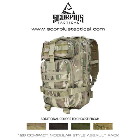 Condor 126 - Compact Assault Pack, Tactical Backpack Only