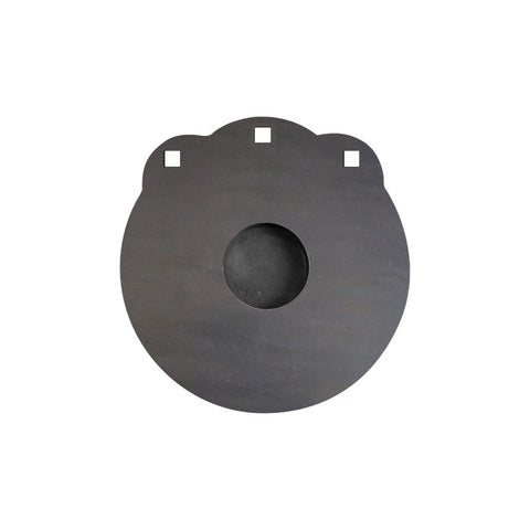 "Sharpshooter AR500 Gong 10"" or 12"" - 3/8"" Thick - Laser Cut"