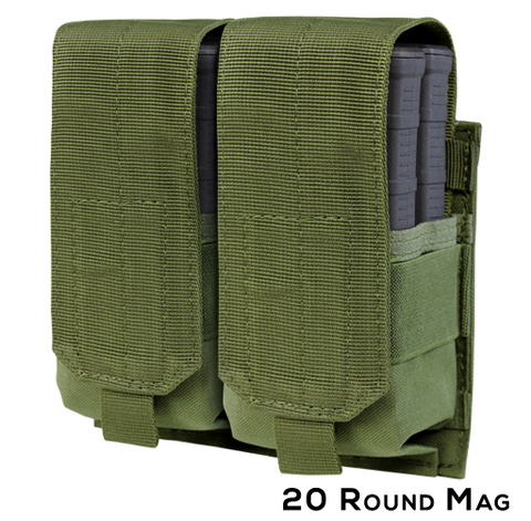 191089 - Double M14, Fal, AR10, G3 .308 Mag Pouch - Gen II -  Condor