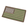 "USA Flag Hook and Loop Patch - 2""x 3"""